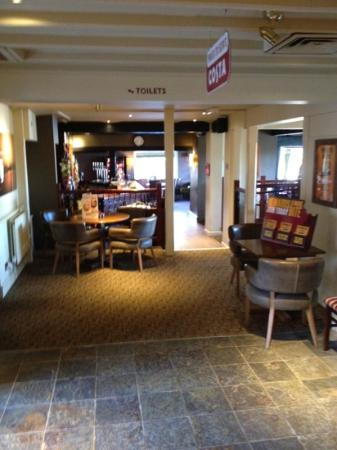 Premier Inn Ipswich South: the bar area