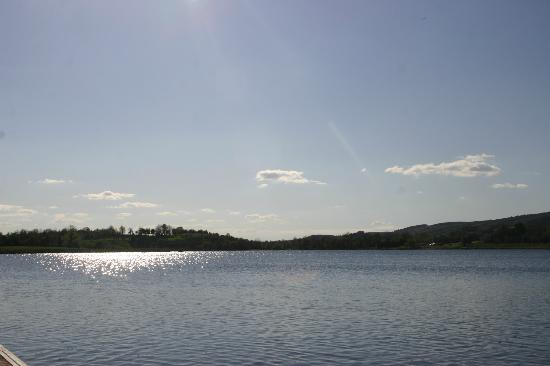 Fermanagh Self Catering - Stables &amp; Rafters: Killfole Lough is great fort fishing, walking or kayaking/ canoeing