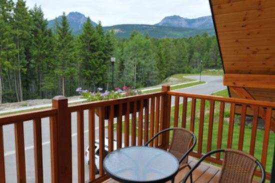 Canyon Ridge Lodge: terrasse