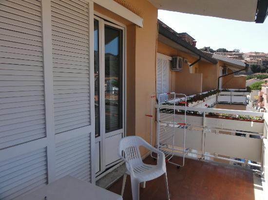 Hotel L&#39;Approdo: Il balcone