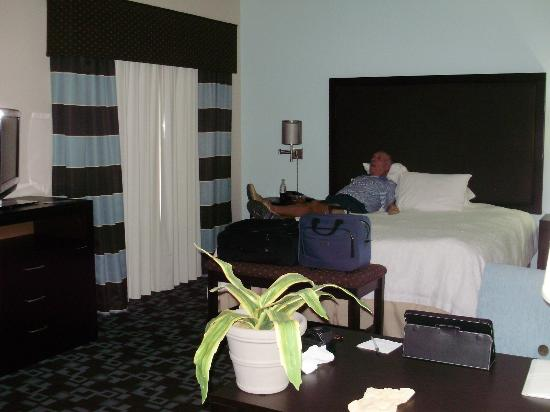 Hampton Inn & Suites Nashville @ Opryland: King bedroom