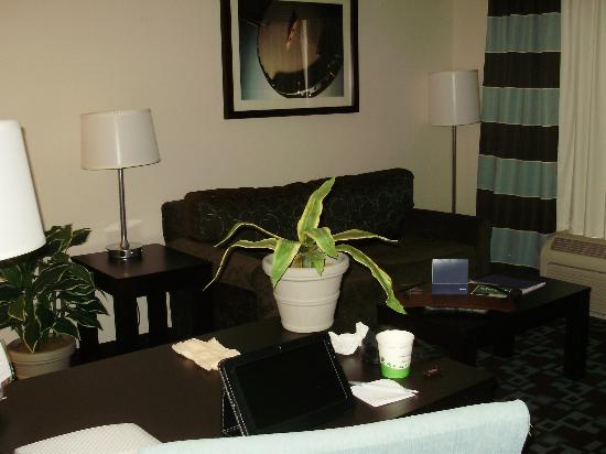 Hampton Inn & Suites Nashville @ Opryland: Seating and desk