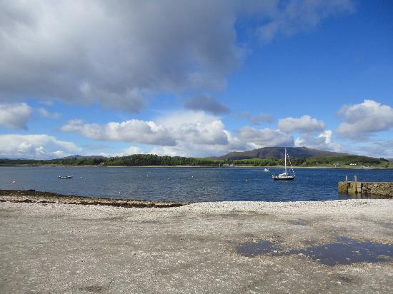 Port Appin, UK: View from the Pierhouse towards Lismore