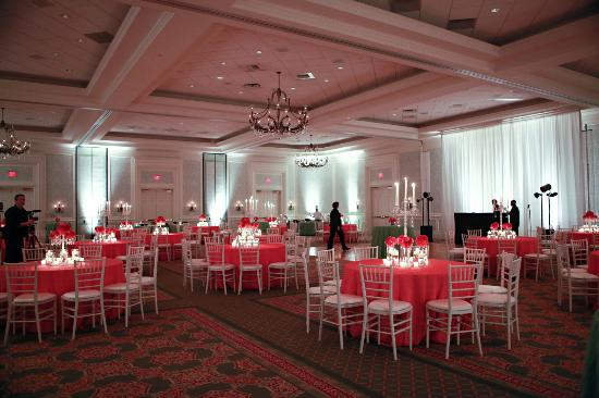 The Ballantyne Hotel and Lodge: Ballroom set for reception