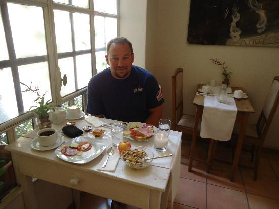 Vrabac Guesthouse: Breakfast