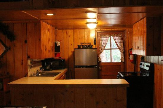 The Evergreens on Fall River: Kitchen