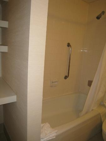 Doubletree By Hilton at the Entrance to Universal Orlando: small bath