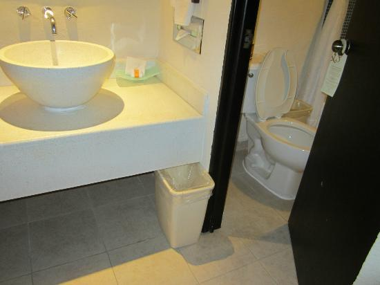 Allegro Cozumel: small bathroom