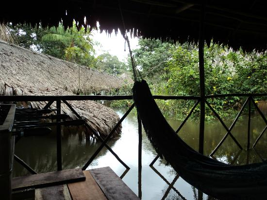 Muyuna Amazon Lodge: Hamacas para el relax