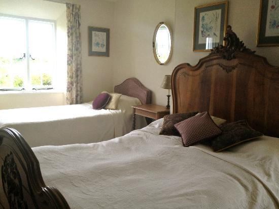 Saint Gennys, UK: Great beds