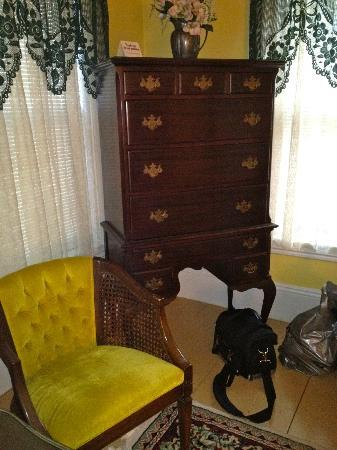 Bradford, NH: Dresser in mini suite