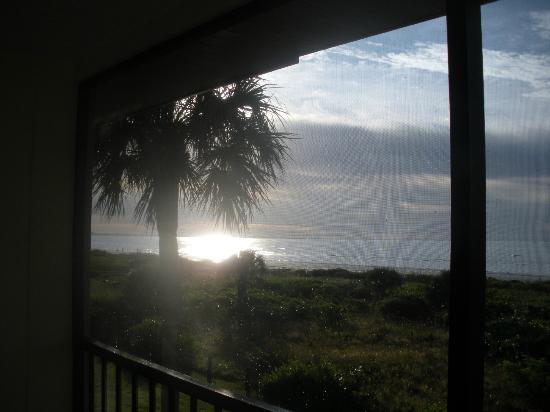 Sanibel Inn: View from Window