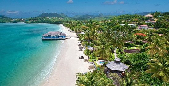 Photo of Sandals Halcyon Beach St. Lucia Castries
