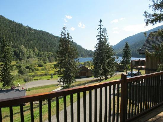 Alpine Meadows Resort: View from our deck.