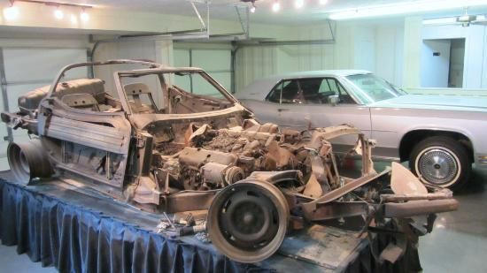 Car Museum Los Angeles >> The corvette he was killed in - Picture of Buford Pusser Home and Museum, Adamsville - TripAdvisor
