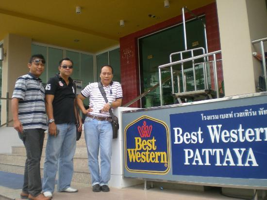 BEST WESTERN Pattaya: entrance