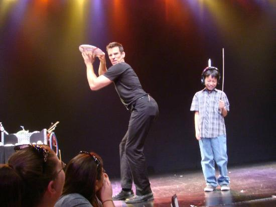 Jeff Civillico and His Nice Ass next to the kid :)