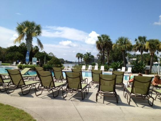 Plantation on Crystal River: View at the pool