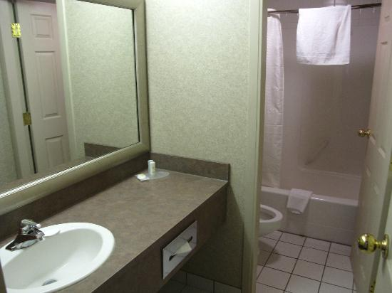 Comfort Inn & Suites Airport: Bathroom.