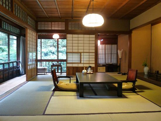 Hiiragiya in kyoto nippon ryokan style for Salle de bain japonaise traditionnelle