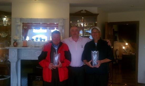 The Tides Guesthouse Ballybunion: David's Winter league trophies