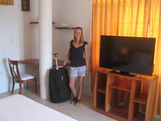 Suites del Sol: Our guest Laura.