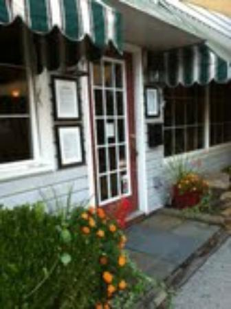 Ligonier, Pensylwania: Flavors Cafe Front Door