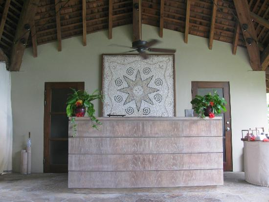 Rosewood Little Dix Bay: Spa, reception area