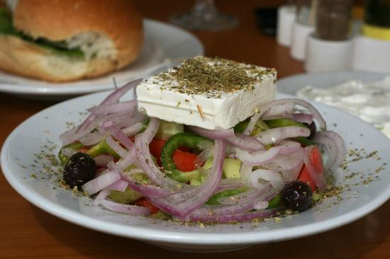 Theodosia: tasty Greek salad