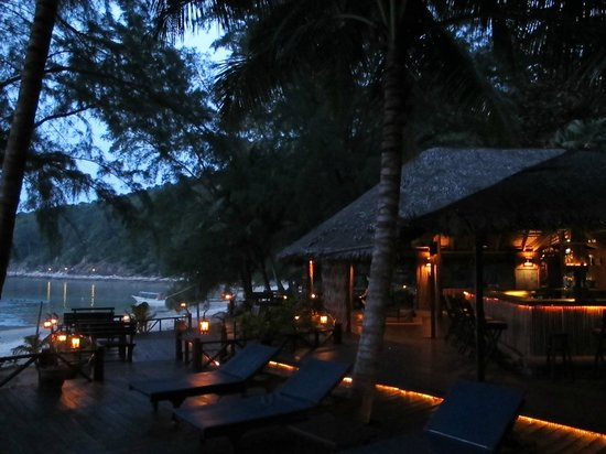 Rimba Resort: The bar and common lace for all to meet and chill