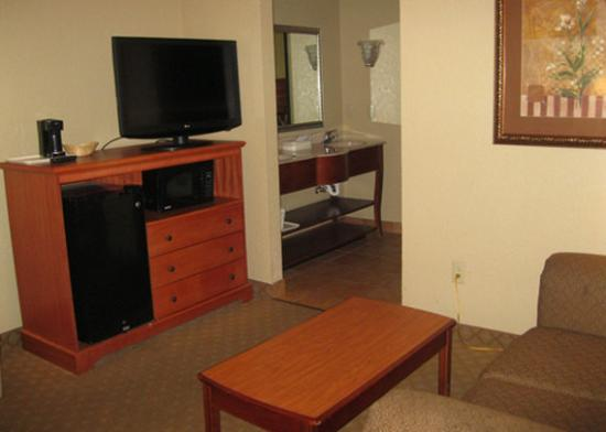 Comfort Suites Near Seaworld: guest room