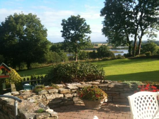 Willowbank House: View from breakfast room