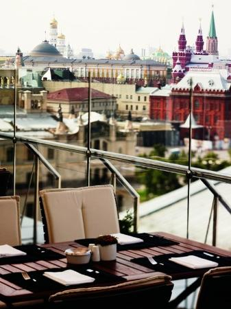 Ararat Park Hyatt Moscow: MOSPH_P026 Conservatory Lounge &amp; Bar-Summer Terrace
