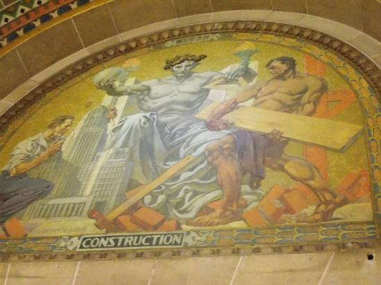 Buffalo City Hall: Hall Art