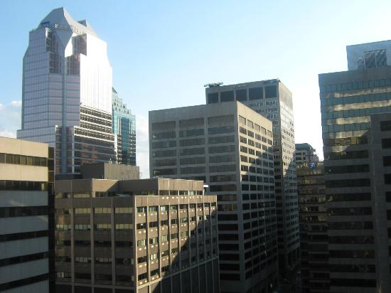 Delta Montreal Hotel: view from room