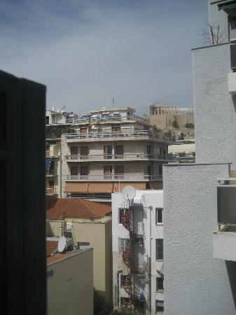 Philippos Hotel: View from the balcony