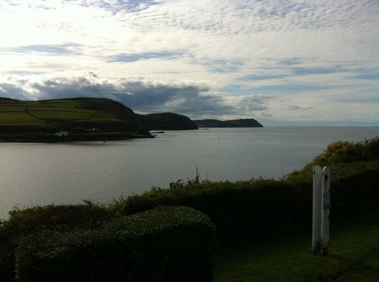Port Erin, UK: The view from the outside dining area
