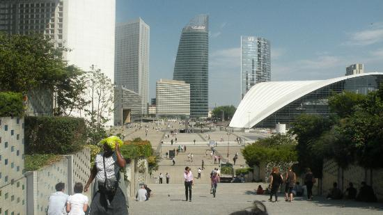 Novotel Paris La Defense: non sembra di essere a 2 passi da parigi