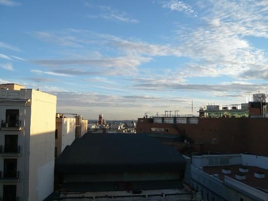 Hotel Atlantico: View from roof over skyline