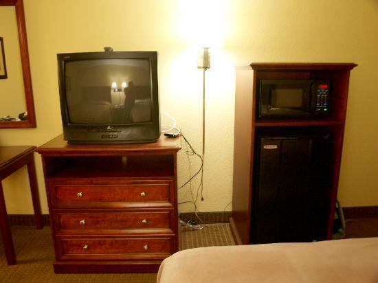Budget Inn: TV, Microwave