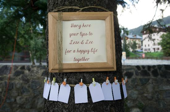 Hotel Baita dei Pini: Message Tree