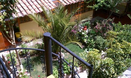 Amaru Hostal: Gardens