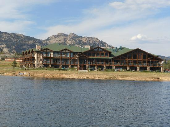 The Estes Park Resort Picture Taken From A Boat On The Lake The Estes Park Resort Estes Park