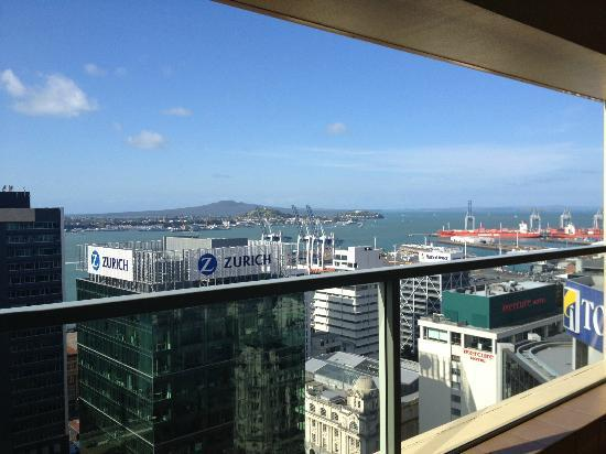 The Sebel Quay West Auckland: View from 22nd Floor :)