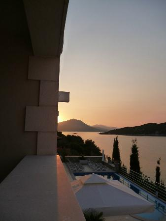 Sudurad, Kroatien: Sunrise from balcony