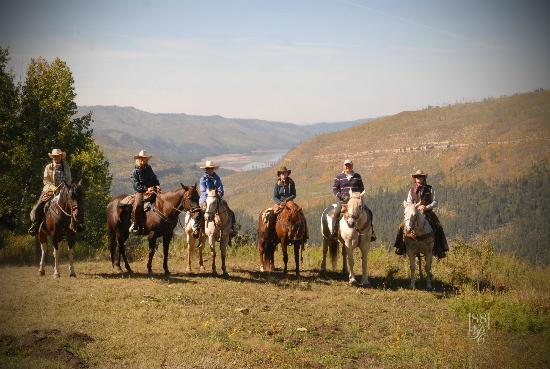 Wilderness Trails Ranch: Scenic photo ops
