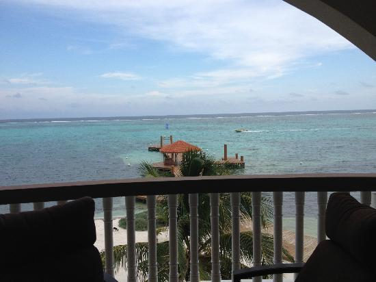 Grand Caribe Belize Resort and Condominiums: view from A8