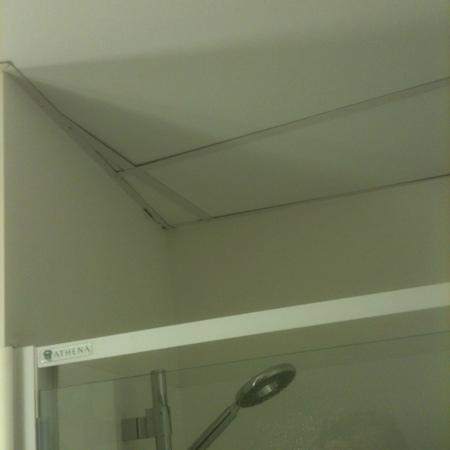 Ibis Wellington: shower ceiling was moldy :-(