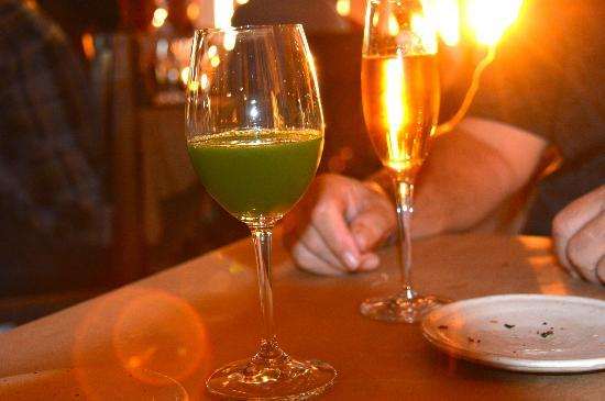 Willows Inn: Ever tried sorrel juice?