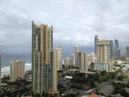 Surfers Paradise Marriott Resort & Spa: view from our room!